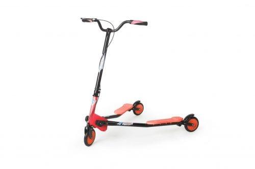 Speeder 125 negro rojo