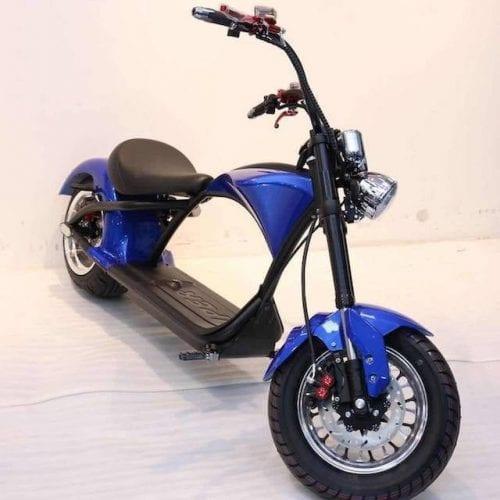moto eléctrica harley citycoco