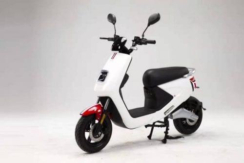 Moto Eléctrica Italica perfil